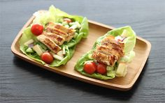 Grilled Island Chicken Lettuce Wraps - I really liked the taste of the ...
