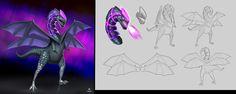 ArtStation - Amethyst Dragon, Agith P (VISJON)