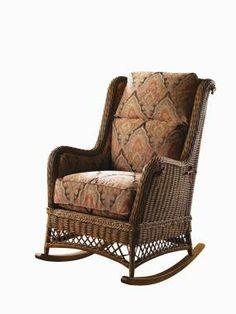 Highland House Furniture: 617 - TENNYSON WICKER ROCKER