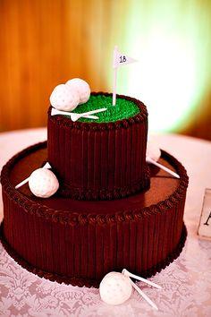 Really cute golf cake! #golf #lorisgolfshoppe