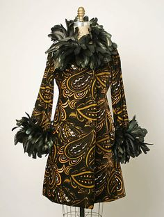 Coatdress  Donald Brooks, 1968  The Metropolitan Museum of Art @Valerie Mettler & @Alyssa Cope This is fabulous and I thought you'd both agree!