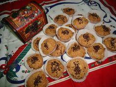 Bolinhos de côco com chocolate