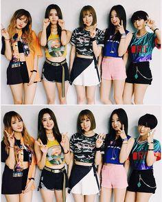 My favorite girl group 💕 Kpop Girl Groups, Korean Girl Groups, Kpop Girls, Hani, Stage Outfits, Girl Outfits, Exid Kpop, Ulzzang, Fandom