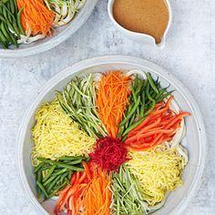 10 best Asian noodle recipes | Chilled Udon Salad (Hiyashi Chuka Udon) | Sunset.com
