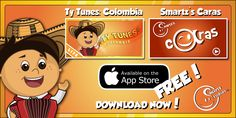 Thank you for downloading our apps!  Ty tunes Colombia https://itunes.apple.com/us/app/ty-tunes-colombia/id903692803 Smartz's Caras  https://itunes.apple.com/us/app/smartzs-caras/id901217294