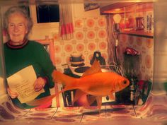 Grandmother (fish) by Liron Barchat