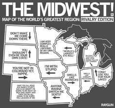 Minnesota and wisconsin Funny Quotes, Funny Memes, Hilarious, Funny Irish Memes, Jokes, Stupid Memes, Dankest Memes, Really Funny, The Funny