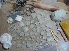 Making Clay Pendants, Earrings & Buttons. Great info on making and finishing.