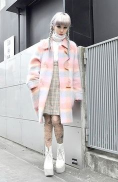 cool like a dreamsicle.... by  http://www.globalfashionista.us/japanese-street-fashion/like-a-dreamsicle/
