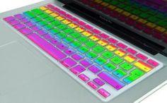 Rainbow MacBook Keyboard Cover | $6.50