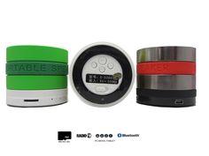 Altavoz Portátil Mini Inalambrico Con Bluetooth, Radio, MicroSD, USB y Con Batería Recargable  - http://complementoideal.com/producto/audios/altavoz-mini-con-bluetooth-radio-microsd-8597/  - Altavoz Mini Con Bluetooth con Radio y MicroSD   Además con el Altavoz Mini Con Bluetooth podrás disfrutar de todas las emisoras de la Radio FM para que no te pierdas tus programas favoritos. El Altavoz Mini Con Bluetooth es compatible con tarjetas SD, MicroSD , reproduce