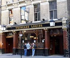 The Princess Louise Pub at 208-209 High Holborn, London, is a late Victorian time capsule. must go here.