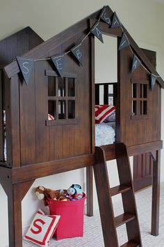 treehouse bed @pbteen #Forthehome SOOOO CUTE