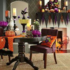 Halloween decor #halloween #decor #cat #pumpkin