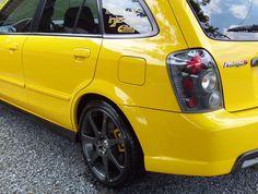Mazda Protege5, carbon fiber sweet!