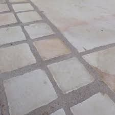 Image result for indian slab stone cobble edging
