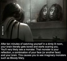 What do you think about this ? Comment below 👇 knowledge_infinity mirror yourself horror horrormovies bloody bloodymary blood bloodmoon monster monsterenergy monstax night nights nighttime nightpost nightshift nightsky ghost tuesdaymotivation science The More You Know, Good To Know, Just For You, Creepy Facts, Wtf Fun Facts, Creepy Stories, Horror Stories, Scary Images, By Any Means Necessary