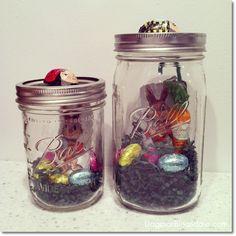 DIY Easter gift with mason jar. Dagmar's Home. DagmarBleasdale.com #Easter #DIY #holiday #crafts #homedecor #masonjar