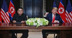 President Donald Trump and North Korean leader Kim Jong Un signed an agreement after their nuclear summit on Singapore on Tuesday. Here's the full text of the document, as released by the White House. Donald Trump, Latest Comedy, Document Sign, Trump Sign, How To Look Handsome, Popular Videos, Us Presidents, America, Singapore