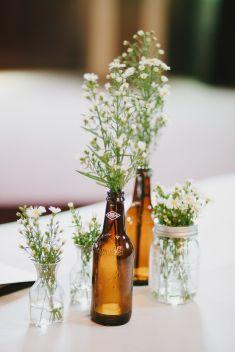 Simple and easy DIY baby's breath flowers for wedding centerpieces | Wedding Vendors - Bridestory.com.sg