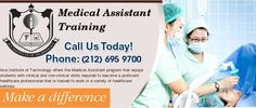 While doing medical assistant training in New York region, you requires to learn the clinical and non-clinical skills. There are many topics are covered in medical training such as microsoft office, anatomy physiology & med terminology, administrative procedures for the Office, phlebotomy and many others.
