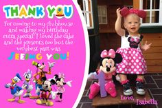 Minnie Mouse Invitation Mickey Mouse Clubhouse by CutePixels