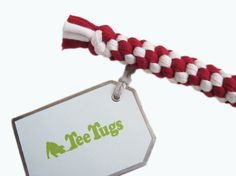 Eco Friendly dog toys made from old T-Shirts!
