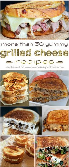 More than 50 yummy Grilled Cheese recipes! Lots of great i… | Flickr