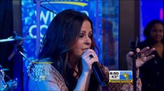 "Sara Evans Performs ""Slow Me Down"" on Good Morning America Country Music Television, Sara Evans, Country Artists, Good Morning America, Live, Youtube"