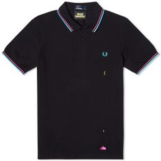 Fred Perry x Space Invaders Polo 01 (Black)