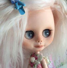 Blythe Little Sister- Custom Blyh Doll Like Middie Blythe, OOAK Art Doll Named Twinkle, by EmmyB.lythe