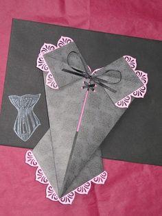 Cidade Phantástica: Corset de origami
