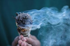 The ancient art of burningsage - Blog - Moving Towards Peace by Christopher Lowman