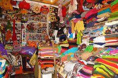 Chilean crafts. Handmade clothes.