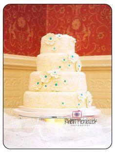 Wedding Cake. Rhian Pieniazek Photography 2014.