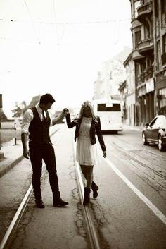 Prewedding photoshoot in Belgrade