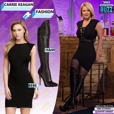 Similar Dress: Bebe Contrast Side Panel Sheath   Boots: Anna Dello Russo for H Leather Boots