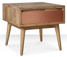 Kinsey 1950s-style side table at Swoon Editions