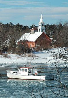 Winter, Cape Porpoise, Maine