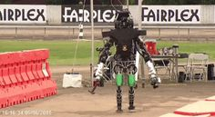 "The Most Hilarious Robo-Falls from the DARPA Robotics Challenge  - PopularMechanics.com ""DERPA"" drunk robots. i guess we should laugh while we still can."