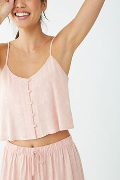 Forever 21 is the authority on fashion & the go-to retailer for the latest trends, styles & the hottest deals. Shop dresses, tops, tees, leggings & more! Cute Sleepwear, Sleepwear Women, Lingerie Set, Women Lingerie, Cute Lazy Outfits, Cute Pajamas, Pajama Set, Pajama Romper, Nightwear