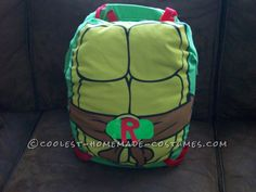 front of turtle shell