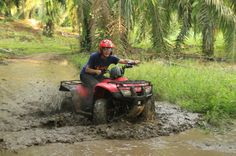 fourtrax puddle   - Costa Rica