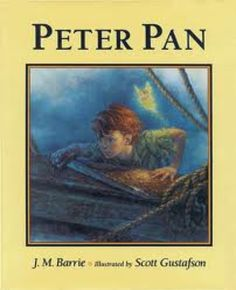 "Peter Pan. One of my personal favorites, and, in my opinion, one of the best books ever written. Nothing depicts the beauty of childhood innocence, and the sad inevitability of ""growing up"" quite like the story Peter."