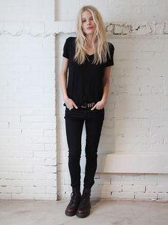7 looks all black, super práticos, que vão deixar seu dia a dia muito mais estiloso.