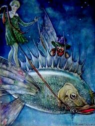 """""""The Dream-Pedlar"""" (1914), illustrated by Florence Anderson (Spirit of the Ages)"""