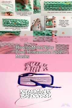 How to Make Your Own Homemade Face Masks Need of the hour: A DIY Face Mask - we started working on a free pattern for you all as soon as we heard of a shortage of face masks in the community. This is something you can easily make for your loved ones but remember that these are not a replacement for the medical surgical face masks. We hope everyone stays safe through these unprecedented times! #facemask #mascaras  #maschere #masken #masks #masques #mask #facemasks<br> Diy Mask, Diy Face Mask, Pocket Pattern, Free Pattern, Make Your Own, Make It Yourself, How To Make, Sewing Elastic, Crochet Faces