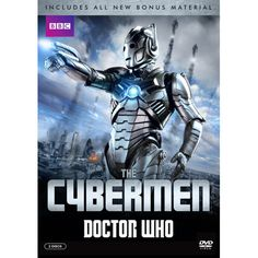 Dr Who: The Cybermen DVD  Few villains in the fantastical world of Doctor Who spark such terror as the dreaded Cybermen - the murderous cyborgs with a bone chilling lack of emotion.  This special release features thrilling episodes with David Tennant, Matt Smith and Peter Capaldi, as well as a bonus 4-part classic Doctor Who Cybermen story and an all-new documentary on the genesis of these frightening creatures. Sure to be a favorite with current and new fans alike!
