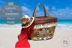 Diy capazo de playa Basket Bag, Straw Bag, Burlap, Reusable Tote Bags, Diy, Ideas, Fashion, Eye, Amigurumi