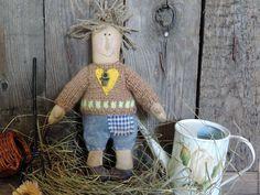Купить Чердачная кукла Василий. - коричневый, чердачная кукла, чердачная игрушка, чердачные игрушки
